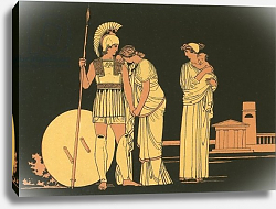 Постер Флексман Джон The meeting of Hector and Andromache