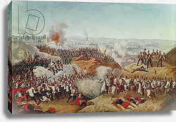 Постер Школа: Австрийская 19в. The Battle of Magenta, 4th June 1859, c.1859