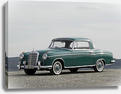 Постер Mercedes-Benz S-Klasse Coupe (W180-128)