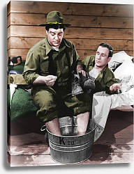 Постер Abbott & Costello (Buck Privates) 2