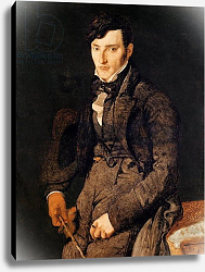 Постер Ингрес Джин Portrait of Jean-Pierre-Francois Gilibert 1804-05