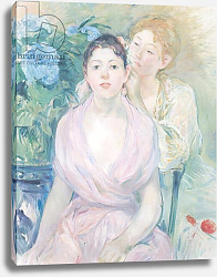 Постер Моризо Берт The Hortensia, or The Two Sisters, 1894