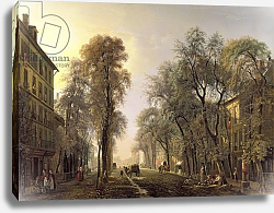 Постер Дагнан Исидор Boulevard Poissonniere in 1834