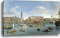 Постер Виттель Гаспар View of Venice from the Island of San Giorgio, 1697