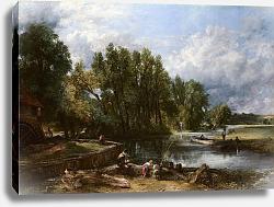 Постер Констебль Джон (John Constable) Стенфодская мельница