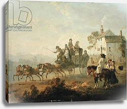 Постер Ибертсон Юлиус A Stage Coach on a Country Road, 1792