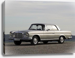 Постер Mercedes-Benz 220SE Coupe (W111-W112) '1961–65