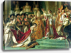 Постер Давид Жак Луи The Consecration of the Emperor Napoleon -4