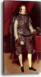 Постер Веласкес Диего (DiegoVelazquez) Philip IV of Spain in Brown and Silver, c.1631-2
