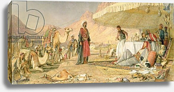 Постер Льюис Джон A Frank Encampment in the Desert of Mount Sinai, 1842, 1856
