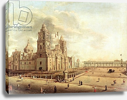 Постер Гуальди Педро The Catedral Metropolitana and the Palacio Nacional