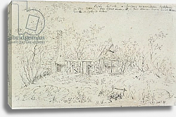 Постер Констебль Джон (John Constable) Cottage at East Bergholt 2