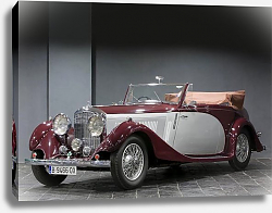Постер Bentley 3 1 2 Litre Drophead Coupe by Young '1935