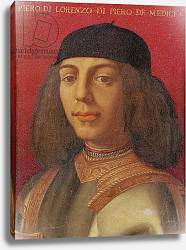 Постер Бронзино Анджело Portrait of Piero di Lorenzo de Medici
