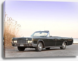 Постер Lincoln Continental Convertible '1967