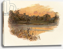 Постер Уилкинсон Чарльз Newstead Abbey