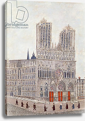 Постер Вивин Луи Rheims Cathedral, c.1923