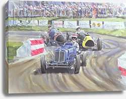 Постер Меткалф Клайв (совр) The First Race at the Goodwood Revival, 1998