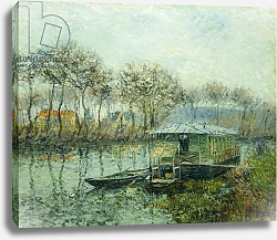 Постер Лоизеу Густав The Seine at Port Marley; La Seine a Port Marley, 1902-1903
