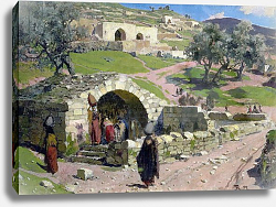 Постер Поленов Василий The Virgin Spring in Nazareth, 1882