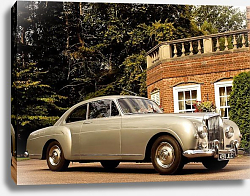 Постер Bentley S1 Continental Sports Saloon by Mulliner '1956
