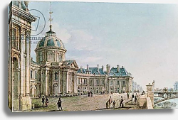 Постер Николле Виктор (грав) View of the College des Quatre Nations, Paris, c.1810