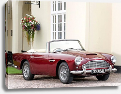 Постер Aston Martin DB4 Convertible '1962–63