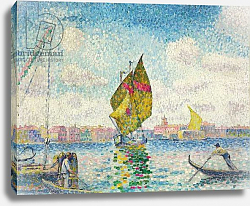 Постер Кросс Анри Sailboats on Giudecca or Venice, Marine; Barques a voiles sur la Giudecca or Venise, Marine, 1903-1905