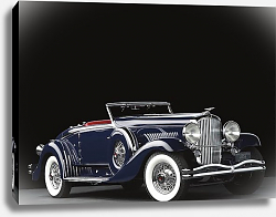 Постер Duesenberg J 534 Walker-LaGrande Convertible Roadster '1934
