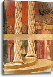 Постер Учелло Паоло The Presentation of Mary in the Temple, 1433-34