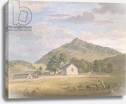 Постер Сэндби Поль PD.2-1967 Haymaking at Dolwyddelan below Moel Siabod, North Wales, c.1776-86