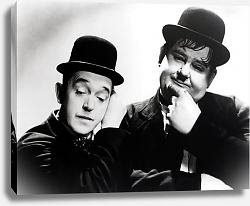 Постер Laurel & Hardy 2
