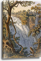 Постер Бэйнс Томас Victoria Falls: The Leaping Water