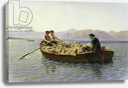 Постер Бонхер Роза Rowing-Boat, 1863