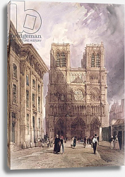 Постер Бойз Томаст (лит) The Cathedral of Notre Dame, Paris, 1836