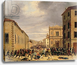 Постер Джоли Антонио The Battle of 21st March 1849 in the Piazzetta Santa Barnaba in Brescia