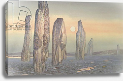 Постер Давид Жюль (совр) Spirits of Callanish, Isle of Lewis, 1987