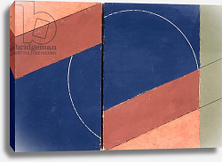 Постер Данатт Джордж (совр) Painting - Interrupted Circle, 2000