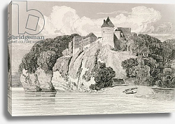 Постер Котман Джон Castle at Tancarville, published 1st October 1821