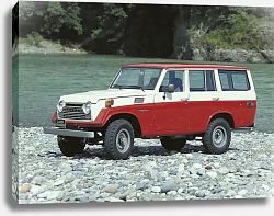 Постер Toyota Land Cruiser 50 US-spec (FJ56VL) '1975–79