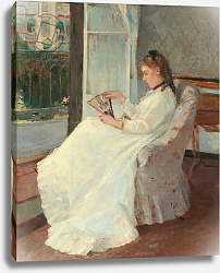 Постер Моризо Берт The Artist's Sister at a Window, 1869