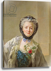 Постер Друаис Франсис Portrait of Madame Drouais c.1758