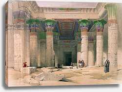 Постер Робертс Давид Grand Portico of the Temple of Philae, Nubia, from 'Egypt and Nubia'