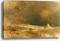 Постер Даниэль Уильям Madras, or Fort St. George, in the Bay of Bengal - A Squall Passing Off, 1833 2