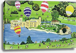 Постер Джоел Джуди Ballooning at Leeds Castle