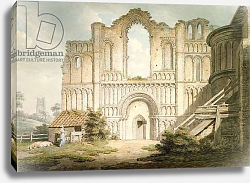 Постер Дейес Эдвард PD.56-1958 West front of Castle Acre Priory Church, near Downham, Norfolk, 1796