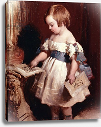 Постер Лэндсир Эдвин Child with a drawing