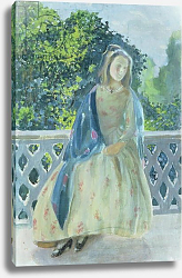 Постер Борисов-Мусатов Виктор Girl on Balcony, 1900