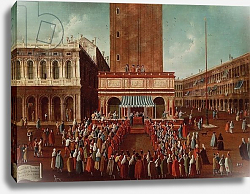 Постер Белла Габриэль Public Lottery at the Loggetta, the Piazza San Marco, Venice