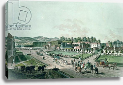 Постер Циглер Иоганн View of the Augarten Palace and Park, Vienna